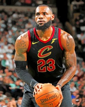 lebron-james-Cleveland-Cavaliers-paint-by-numbers