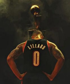 Aesthetic Damian Lillard Paint by numbers