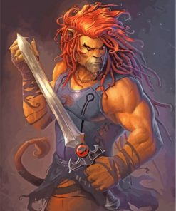 Lionel Thundercat Paint by numbers