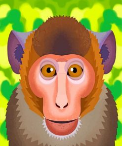 macaque-paint-by-number