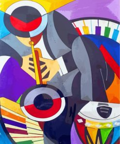 man-playing-music-paint-by-numbers