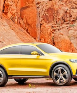 mercedes-benz-glc-concept-gold-paint-by-number