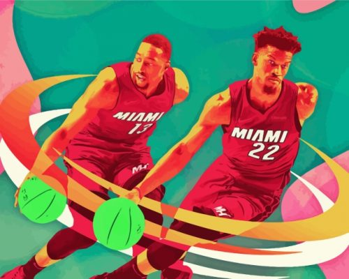 miami-heat-players-art-paint-by-numbers