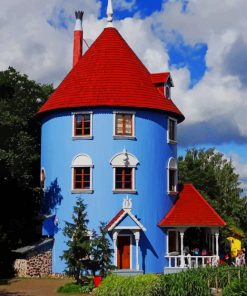 moomin-world-Naantali-Finland-paint-by-number