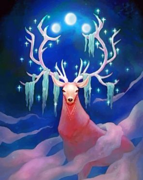 moon-guardian-stag-paint-by-numbers