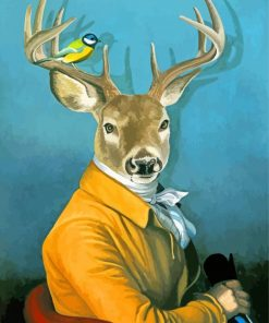mr-deer-and-bird-paint-by-number