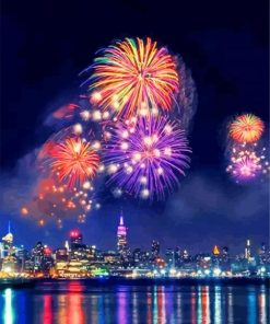 newyork-fireworks-paint-by-number