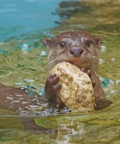 north-american-river--beaver-otter-paint-by-numbers