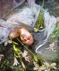 Aesthetic Ophelia Paint by numbers