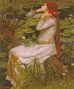 Ophelia Paint by numbers