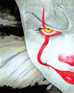 It Pennywise Paint by numbers