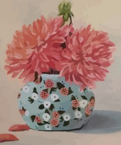 pink-chrysanthemum-in-a-vase-paint-by-numbers