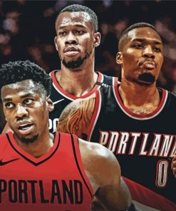 portland-trail-blazers-basketball-players-paint-by-numbers