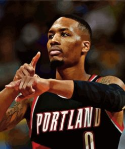 portland-trail-blazers-player-paint-by-numbers