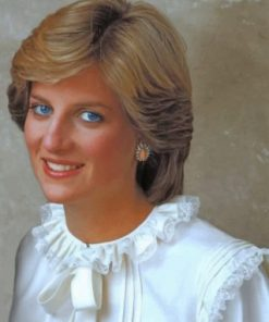 Princess Diana Paint by numbers