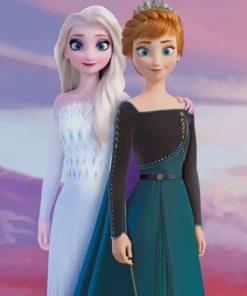 princess-elsa-anna-frozen-paint-by-numbers