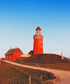 red-tower-light-house-in-farmlands-paint-by-numbers