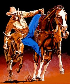 rodeo-cowboy-paint-by-numbers