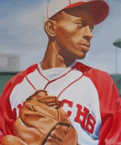 Satchel Paige Paint by numbers