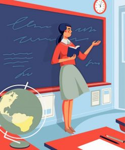 school-teacher-illustration-paint-by-numbers