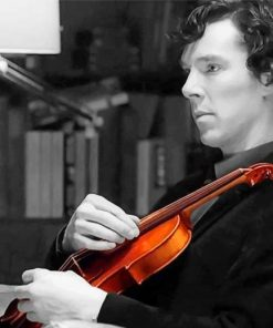 sherlock-holmes-playing-violin-paint-by-number