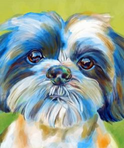 shih-tzu-pet-paint-by-number