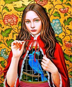 Shiori Maysumoto Art Paint by numbers