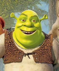 shrek-Puss-in-Boots-znd-fionz-paint-by-number