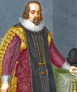 Sir Francis Bacon Father Paint by numbers