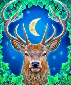 stag-animal-paint-by-numbers