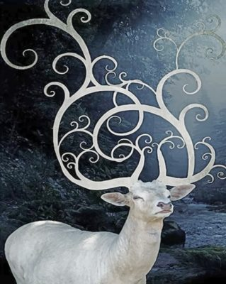 stag-paint-by-number