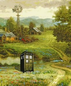 Country Living Paint by numbers