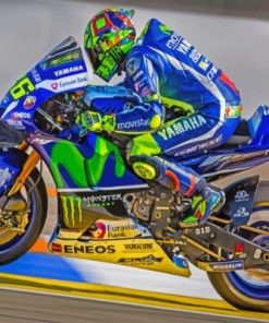 The Lengend Valentino Rossi Paint by numbers