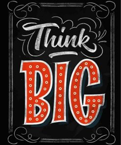 Think Big Paint by numbers