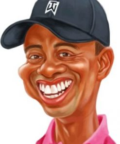 Tiger Woods Paint by numbers