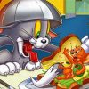 Tom And Jerry Paint by numbers
