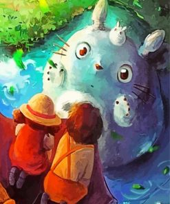 totoro-paint-by-numbers