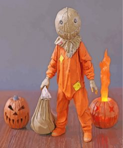 Trick r Treat Movie Paint by numbers