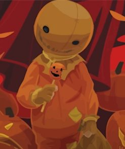 Trick r Treat Sam Doll Paint by numbers