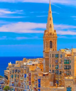 valletta-city-gate-malta-paint-by-numbers