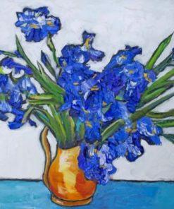Van Gogh Irises Paint by numbers