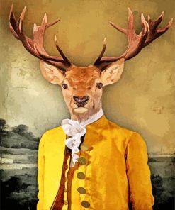 vintage-mr-deer-paint-by-number