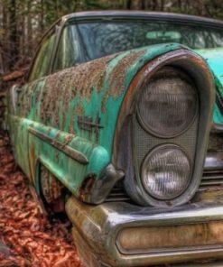 Vintage Old Car Paint by numbers