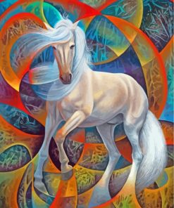 white-horse-paint-by-numbers