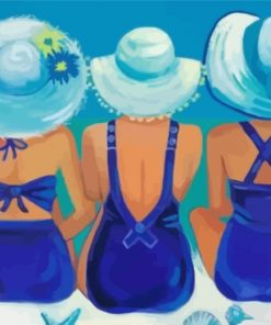 women-on-the-beach-paint-by-numbers