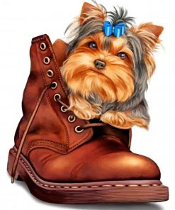 yorkie-in-a-boot-paint-by-number