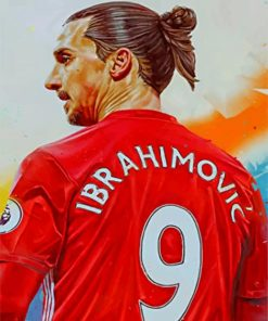 zaltan-ibrahimovic-manchester-united-paint-by-numbers