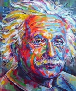 Albert-Einstein-paint-by-numbers
