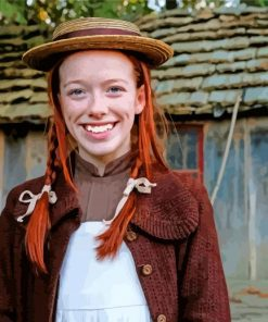 Anne Shirley paint by numbers