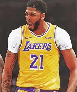 Anthony Davis lakers paint by numbers